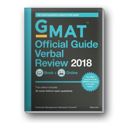 The Official Guide for GMAT® Verbal Review 2018